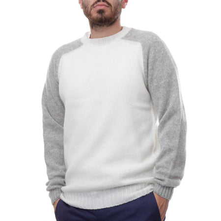 Sixes Thurbin Knit (Winter White & Silver)