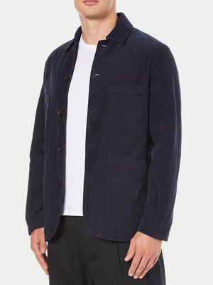 Universal Works Bakers Jacket (Cord Navy) 1