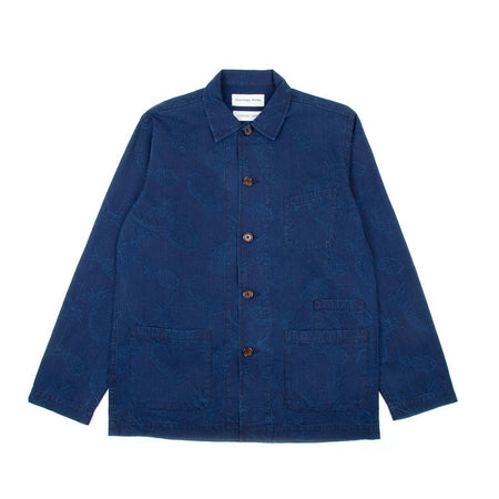 Universal Works Bakers Overshirt (Pineapple)