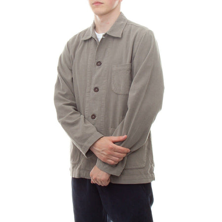 Universal Works Bakers Overshirt (Sage Fine Cord)
