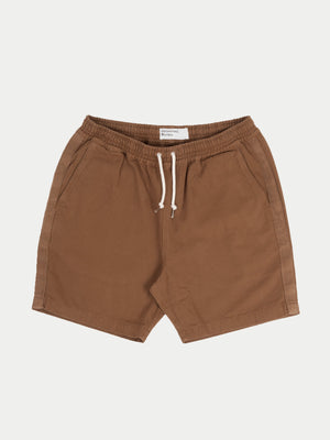 Universal Works Beach Shorts (Khaki)