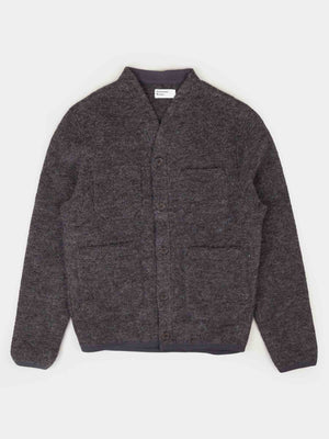 Universal Works Cardigan (Charcoal)