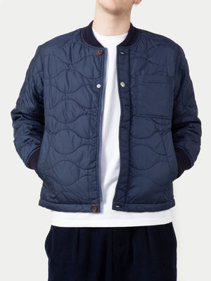 Universal Works Carlton Jacket (Blue) m1