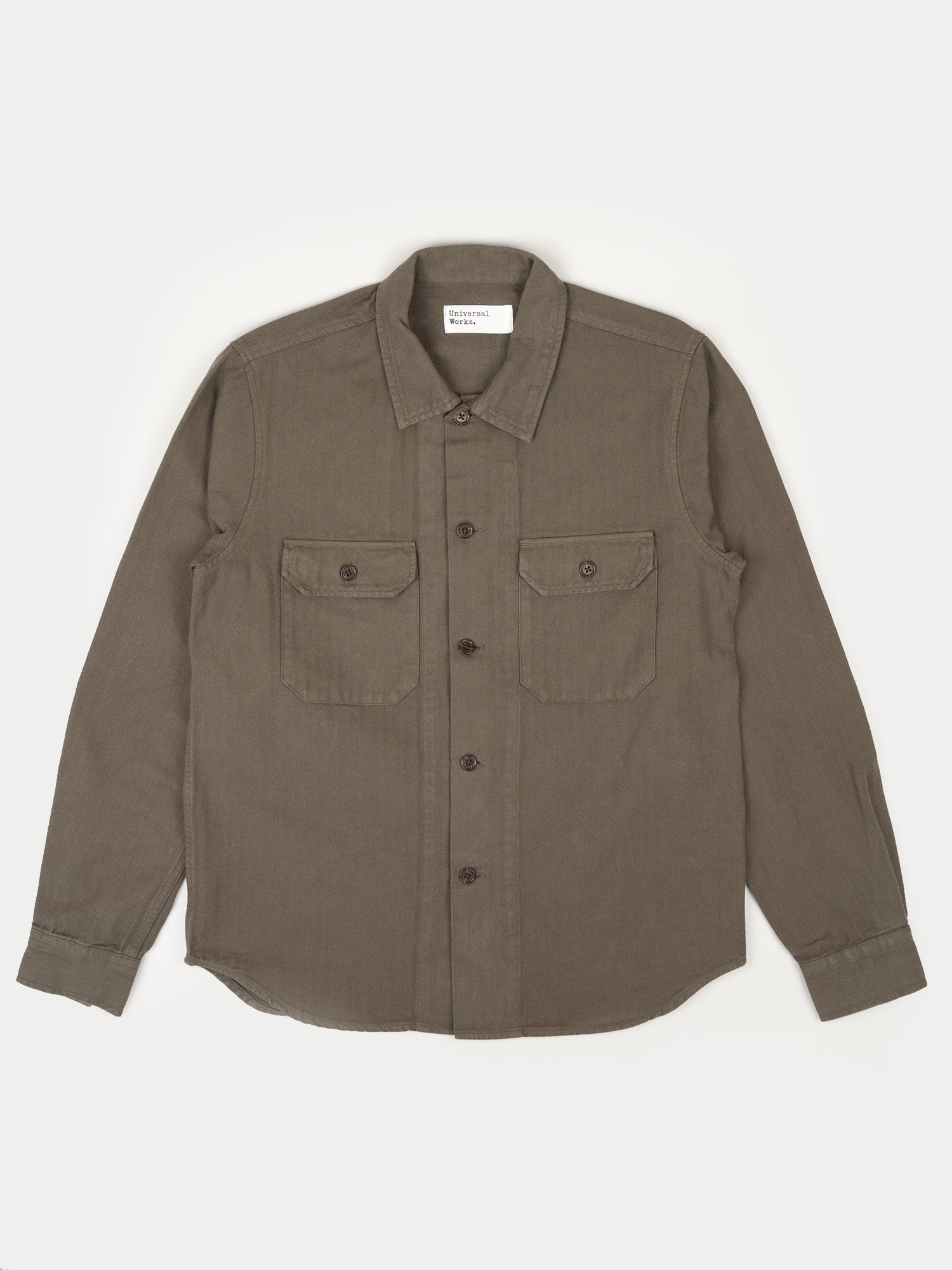 Universal Works Corp Shirt (Olive)