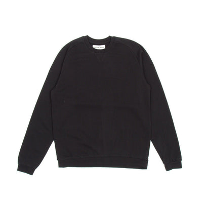 Universal Works Easy Crew Sweatshirt (Black)2