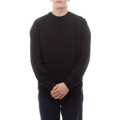Universal Works Easy Crew Sweatshirt (Black)1