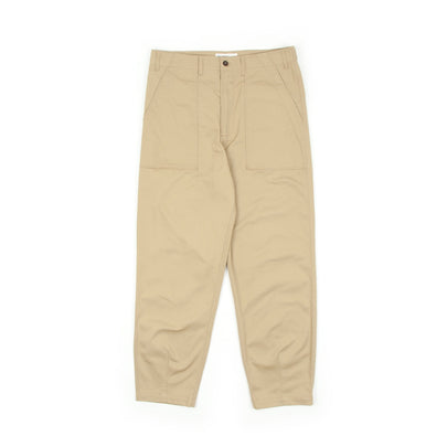 Universal Works Fatigue Pants (Sand)-1