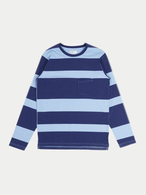 Universal Works L/S T-Shirt (Sky Blue)§
