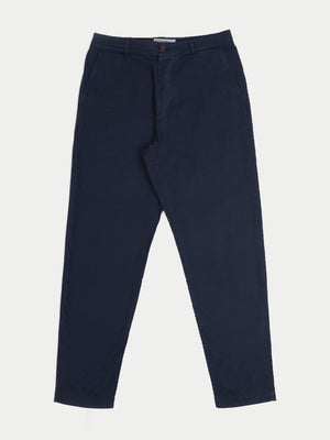 Universal Works Military Chino (Texture Pinstripe Navy)