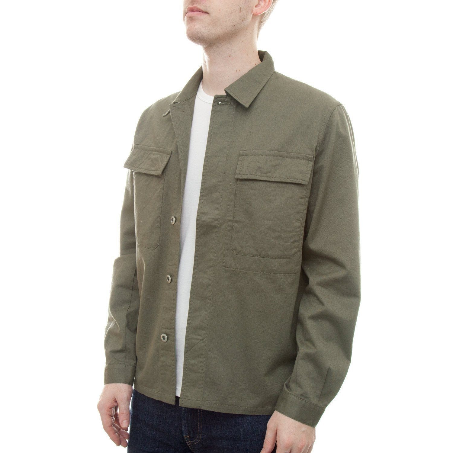 Universal Works Military Work Shirt (Olive)