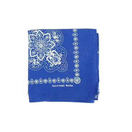 Universal Works Neckerchief (Royal Blue)