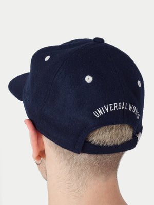Universal Works New Era Cap (Navy) 1