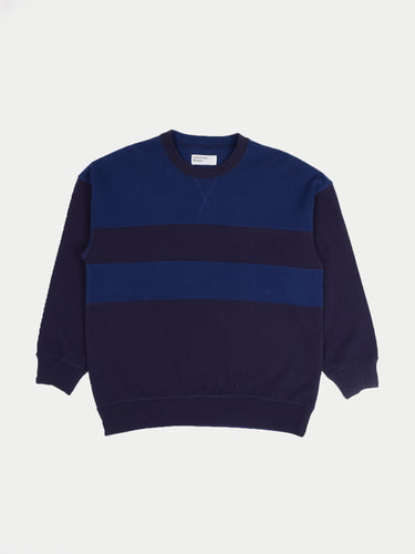 Universal Works Panel Sweatshirt (Blues)