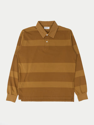 Universal Works Rugby Shirt (Mustard)