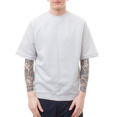 Universal Works S/S Easy Crew Sweatshirt (Grey)-4