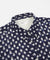Universal Works Day Shirt (Navy Double Ikat Squares)