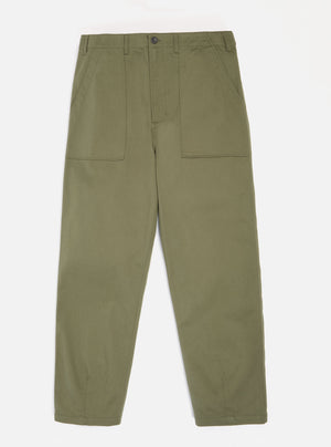 Universal Works Fatigue Pants (Light Olive Twill)
