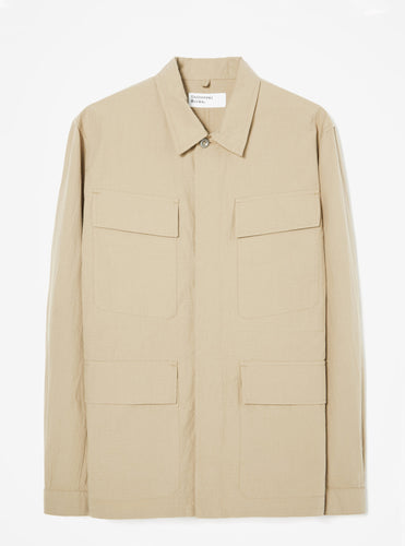 Universal Works MW Fatigue Jacket (Sand Ripstop)
