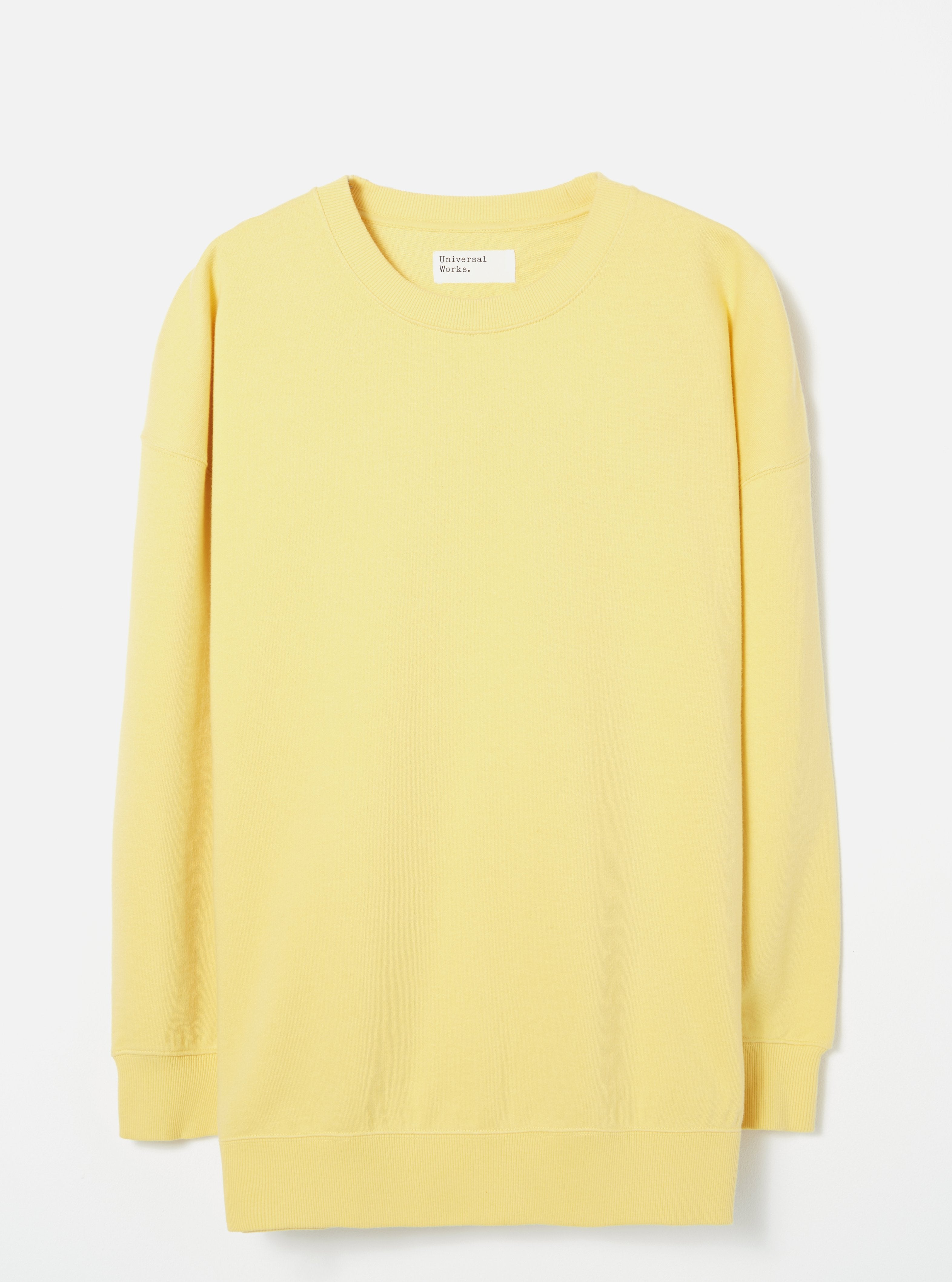 Universal Works Oversized Sweatshirt (Sunshine)