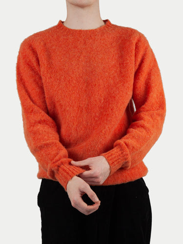 Sixes Supersoft Double Brushed Crew Neck (Jaffa) 1