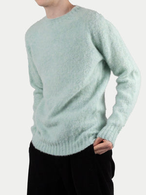 SIXES Supersoft Double Brushed Crew Neck (Lucky Green) 1