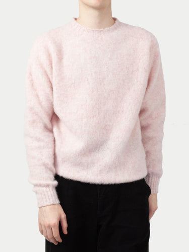 Sixes Supersoft Double Brushed Crew Neck (Strawberry Sherbert) 1