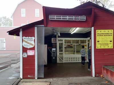 Frankenmuth Fudge at Yates Cider Mill