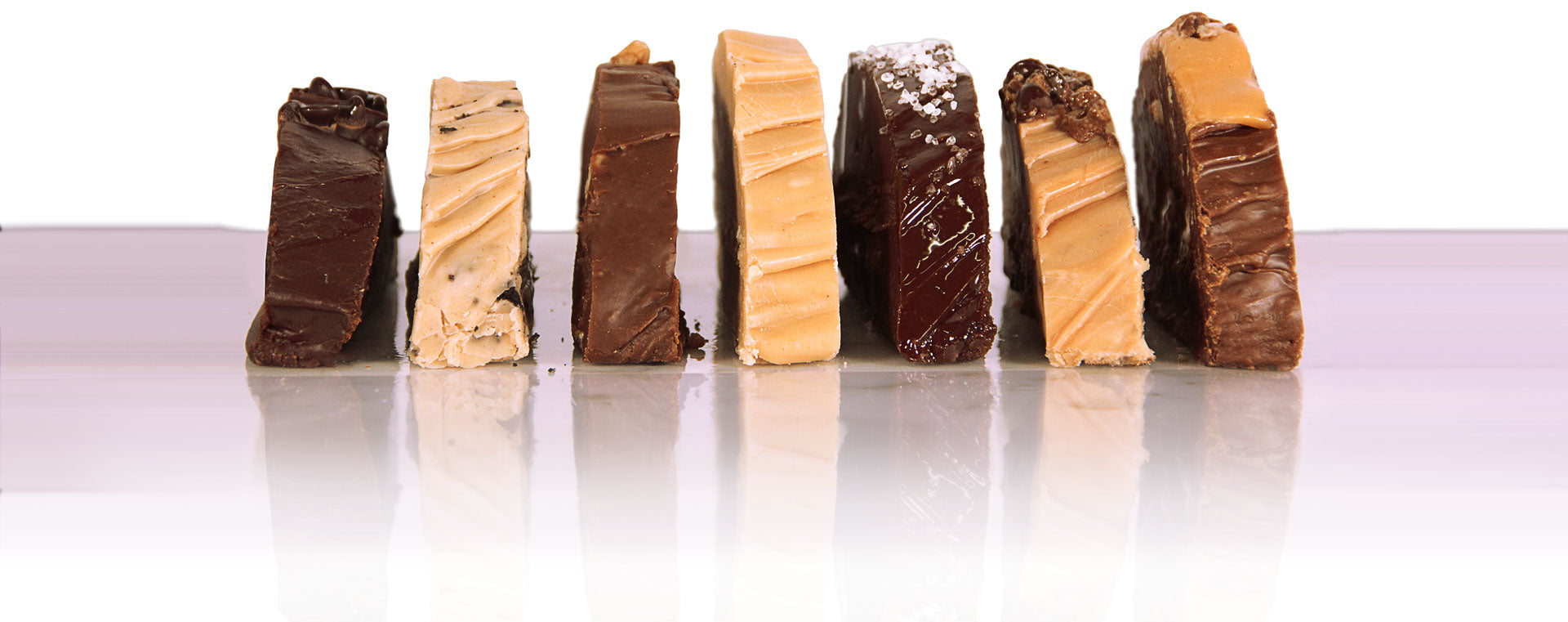 Buy 3 Get Your 4th Free Fudge Special. Flavors below.