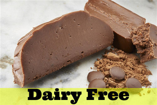 Dairy Free Chocolate Fudge
