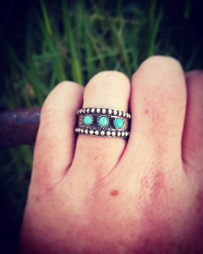 Sterling & Turquoise Ring!