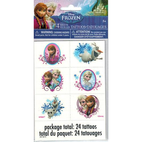 Disney Frozen Tattoos [24 Tattoos]