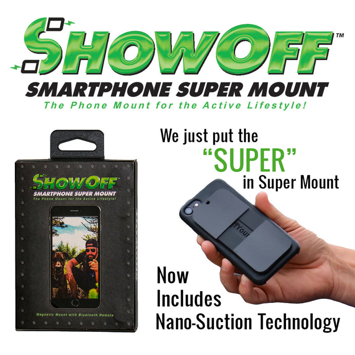 ShowOff Motorcycle Super Mount - A Must for All of Your Summer Motorcycle Adventures!