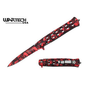 Zombie Hunter Knife (camo skulls).  An essential part of your zombie kit!