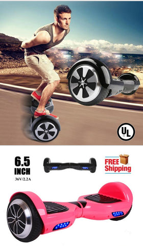 "6.5"" Hoverboard Two-wheel Self-balancing Scooter-UL 2722 Certified"
