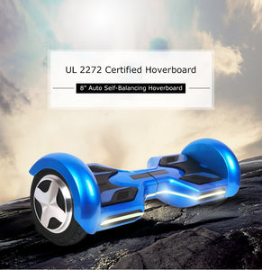 Hoverboard Two-wheel Auto Self-balancing Scooter with built-in Bluetooth speakers-UL 2272 Certified