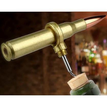 50 Caliber Corkscrew Bottle Opener