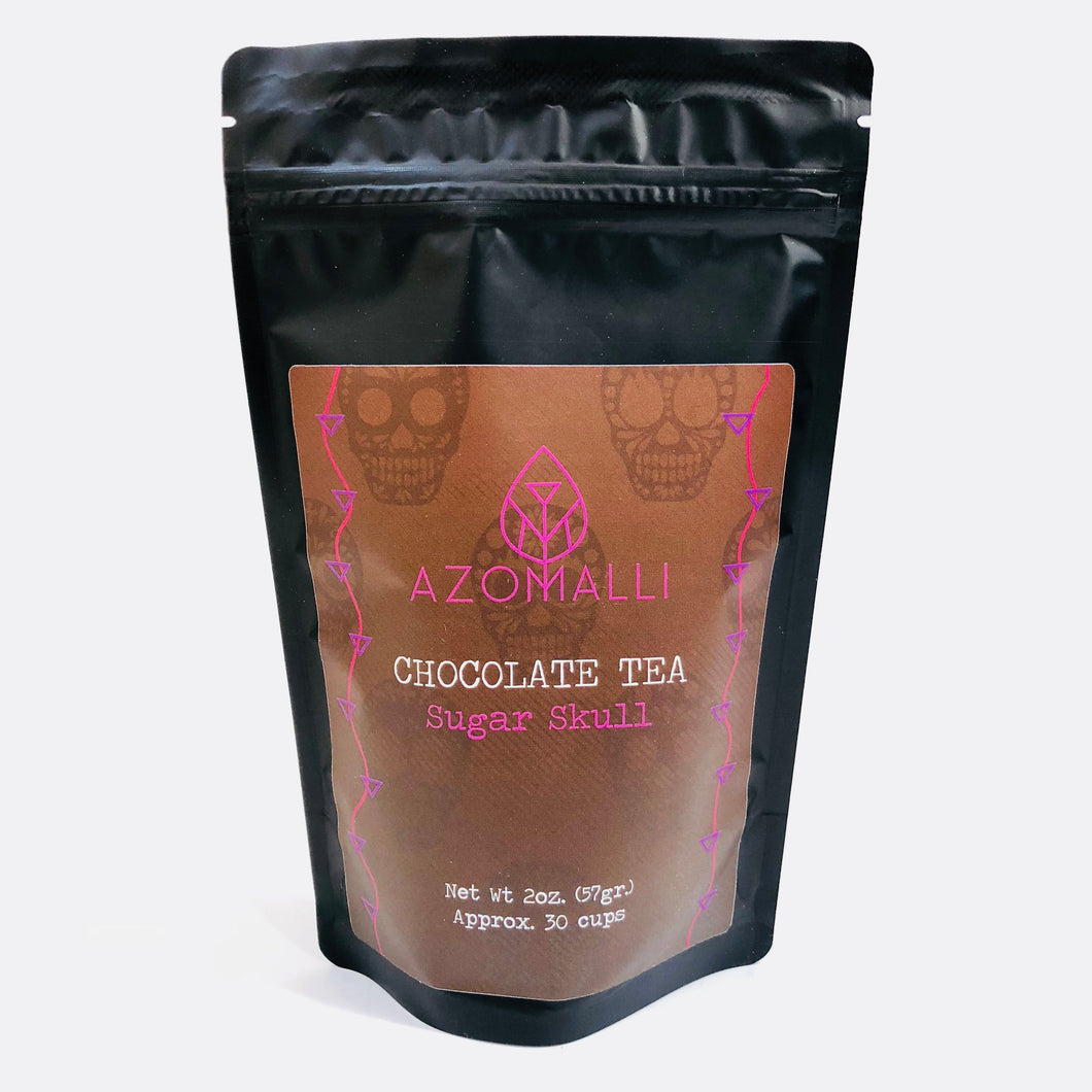 Chocolate Tea - Sugar Skull