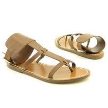BCBG Size 6 M Womens Shoes Brown Porto Leather Slides