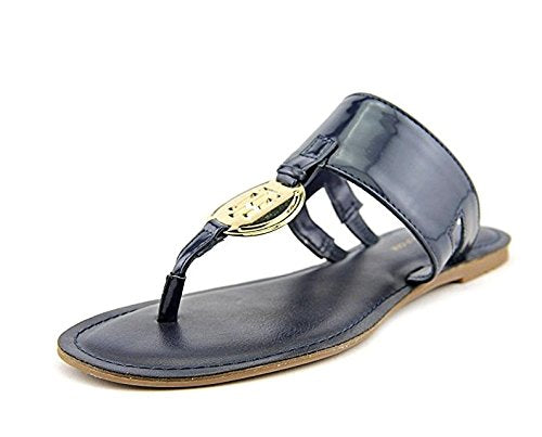 Tommy Hilfiger Luana Women US 5.5 Blue Thong Sandal