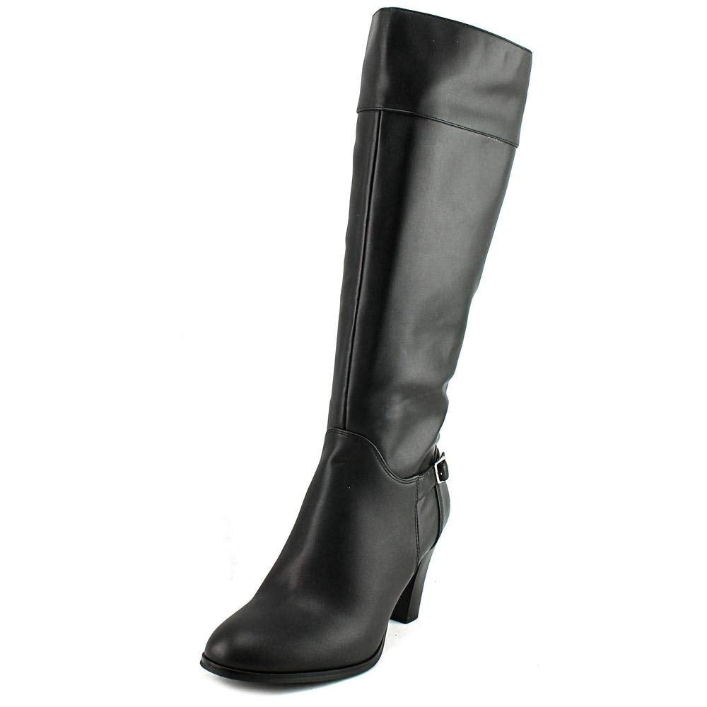Giani Bernini Boelyn Women Round Toe Synthetic Black Knee High Boot