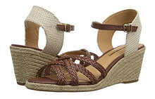 Lucky Brand Kalley2 Womens Dark Almond Wedge Sandal 5.5M