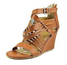 Kenneth Cole Reaction Avatude Women US 7.5 M Tan Wedge Sandal