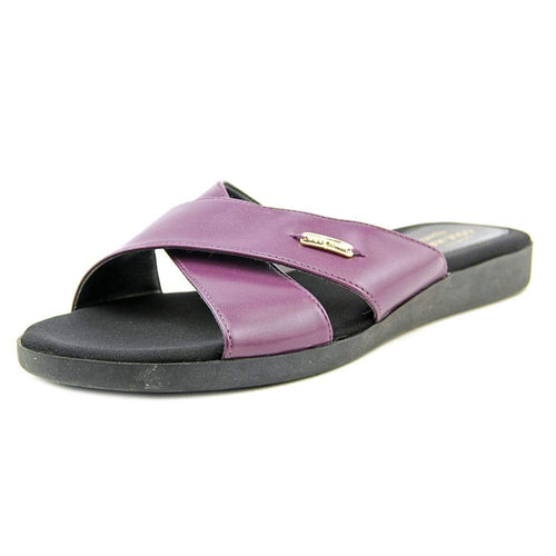 Cole Haan Augusta Sandal Women US 7.5 Purple Slides Sandal