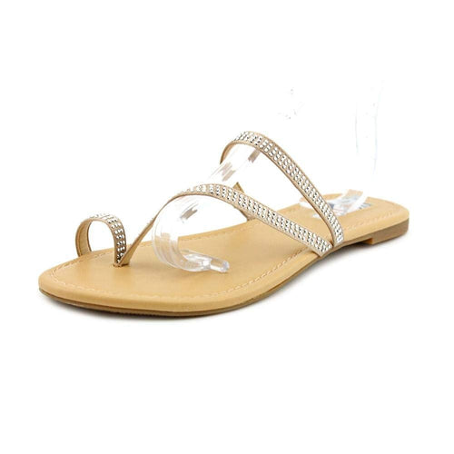 INC International Concepts Mistye 2 Women US 11 Nude Slides Sandal