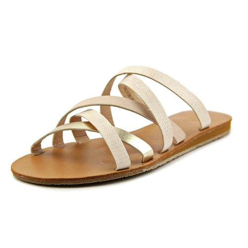 XOXO Staci Women US 6.5 Tan Slides Sandal