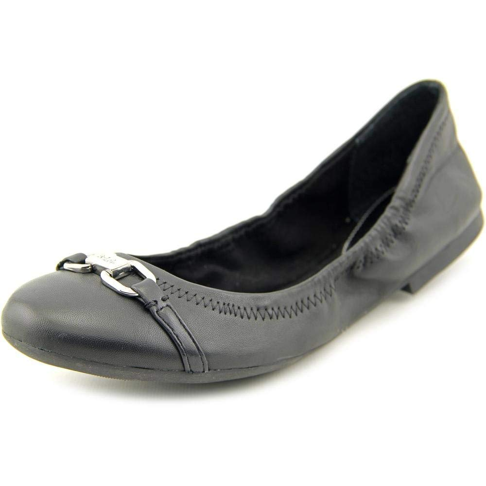 Ralph Lauren Betsy Women's Slip on Shoes Black Nappa Shoes