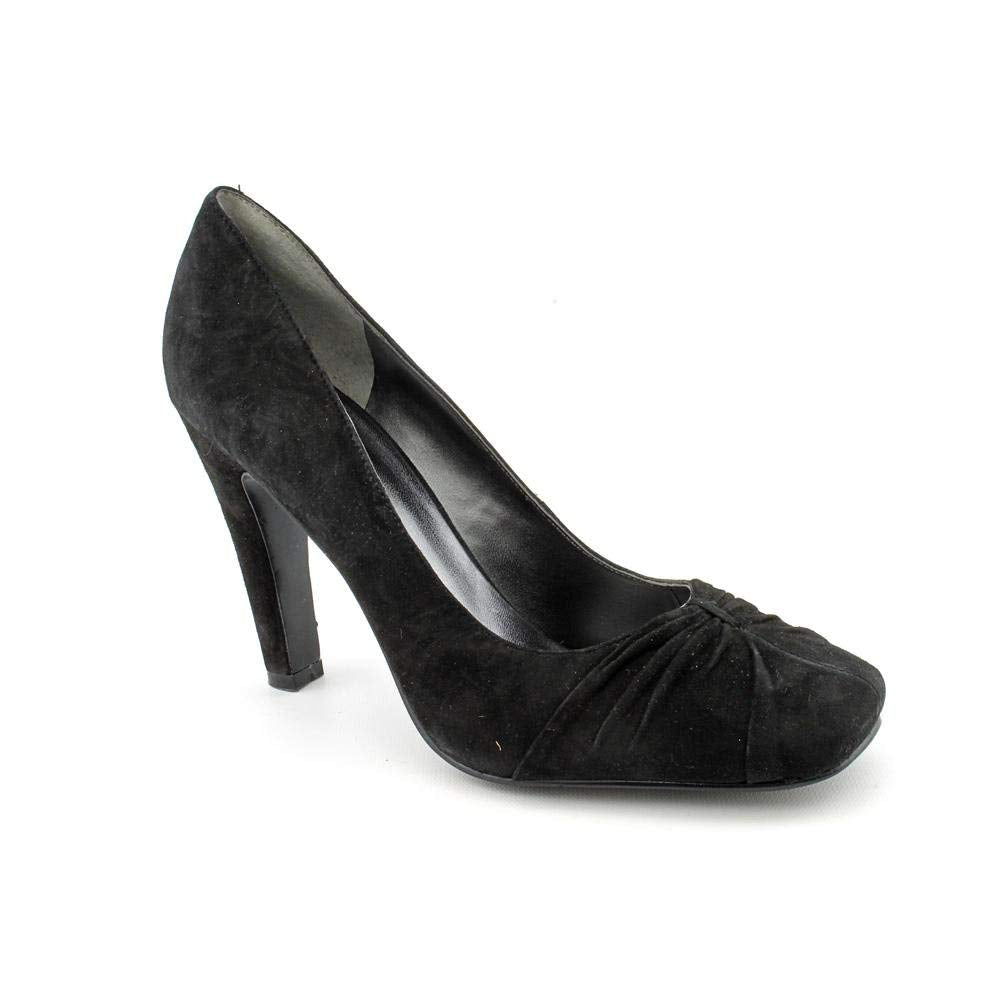 Nine West Shamira Womens Size 6 Black Suede Pumps Heels Shoes