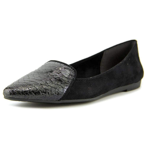 Style & Co.. Womens DESYA Pointed Toe Slide Flats, Black, Size 8.5