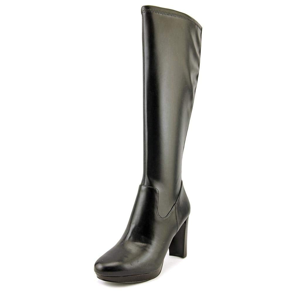 Nine West Womens Krayzie Leather Closed Toe Knee High Fashion Boots