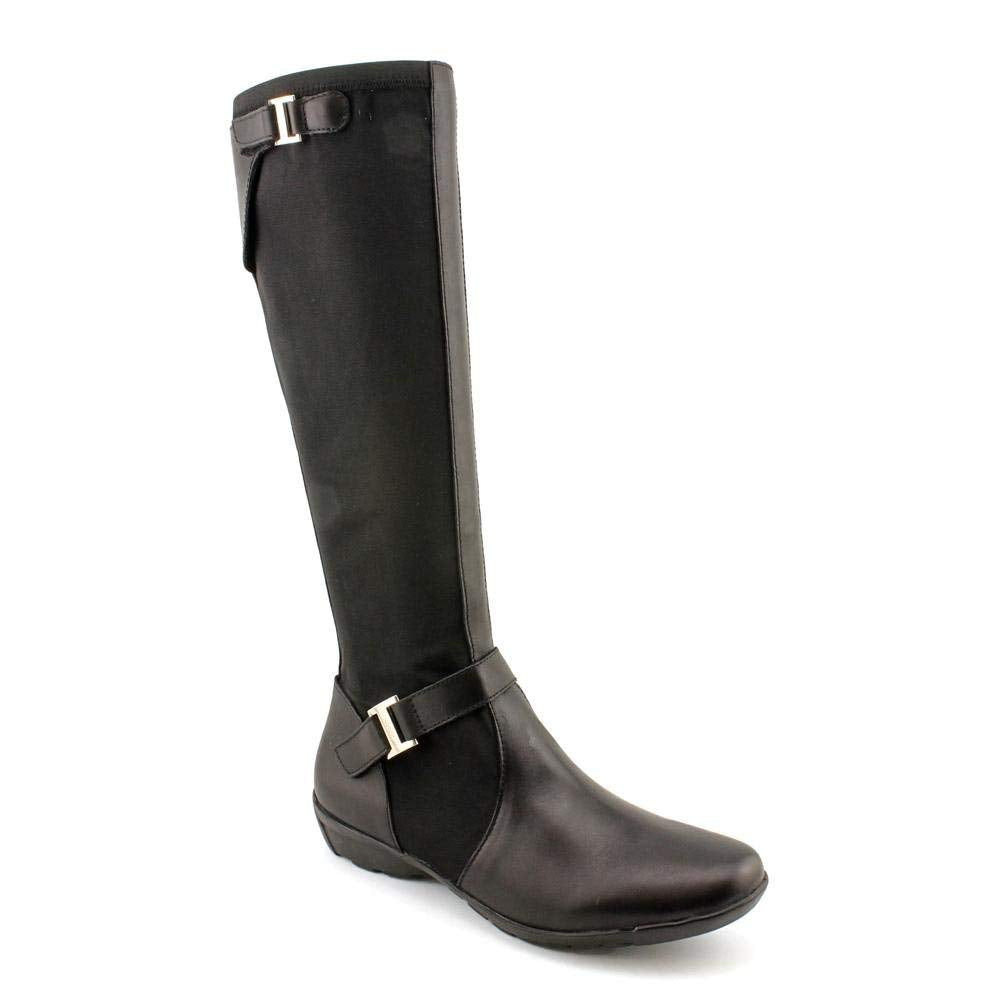 Etienne Aigner Amber Womens Size 5.5 Black Fashion Knee-High Boots